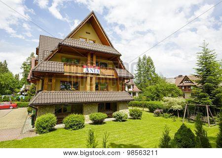 Villa Named Ania In Zakopane, Poland