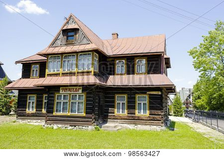 Wooden Villa Named Prymulka In Zakopane