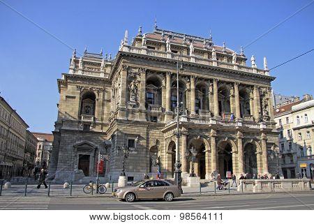 Hungarian State Opera House. Budapest, Hungary
