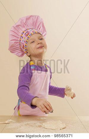 Little Girl Chef.