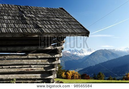 Shack In The Alps