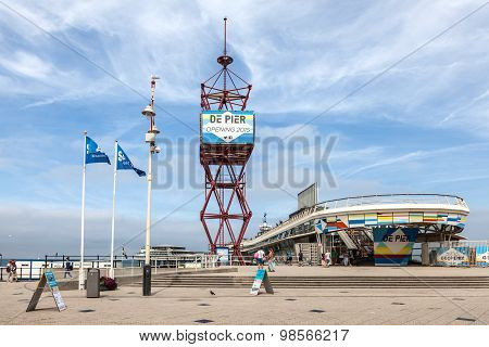 The Pier In Scheveningen, Holland