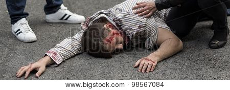 Male Victim Of Dangerous Explosion