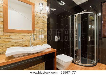 Extravagant Decor Of Bathroom