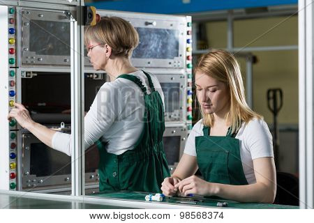 Two Hardworking Women
