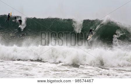 Bells Beach Surfers
