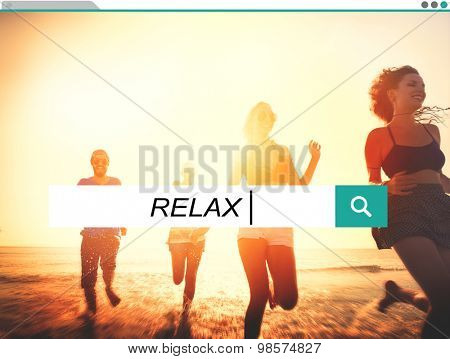 Relax Relaxation Leisure Free Carefree Resting Peace Concept