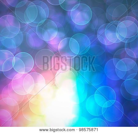 Awesome Blur Abstract And Solid Colorful Wallpaper.