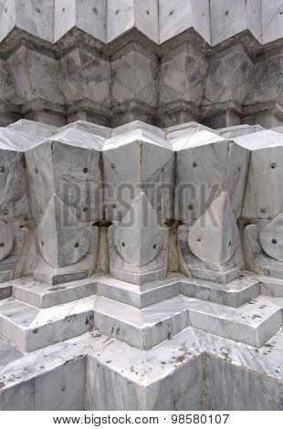 Details Of Marble Carvings