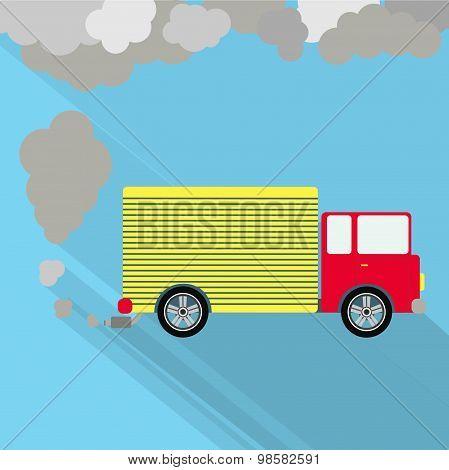 Truck Fuming