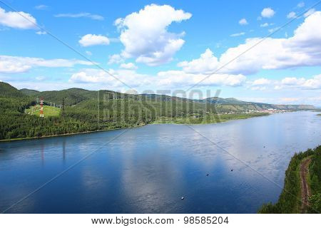 the yenisei river