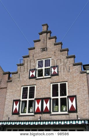 Dutch Historic Facade 1