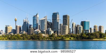 Sydney  City panoramic view, Australia, July