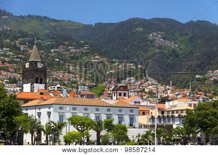 Funchal in Madeira Island, Portugal