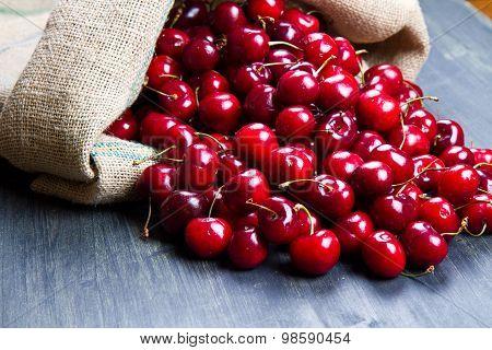 Cherry On Wood