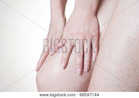 Body Care And Skin Peeling
