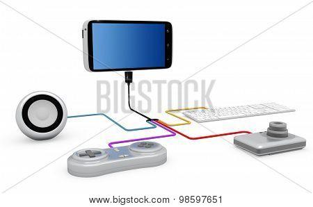 Connection Concept.