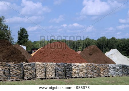 Decorative Rock And Stone Piles