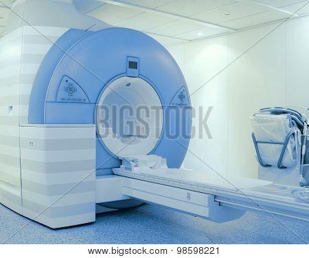 Tomography Scanner In Hospital