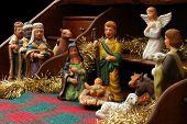 Nativity With Secretary - Side View