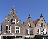 Dutch Historic Facades poster