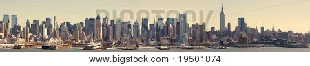 Panoramic View of Midtown Manhattan