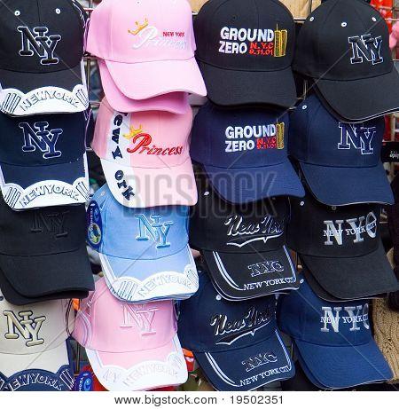 Sombreros para la venta en World Trade Center