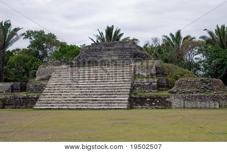 Maya-Ruinen in Altun Ha, Belize