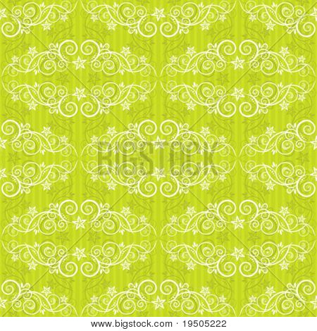 Seamless background. The classic elegant design. Green.VECTOR (See Jpeg Also In My Portfolio)