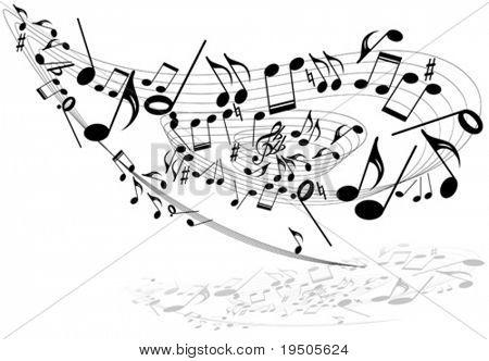 Music theme Whirl