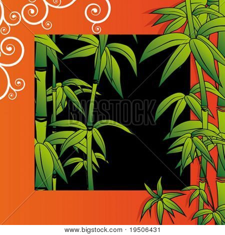 Flower background Bamboo