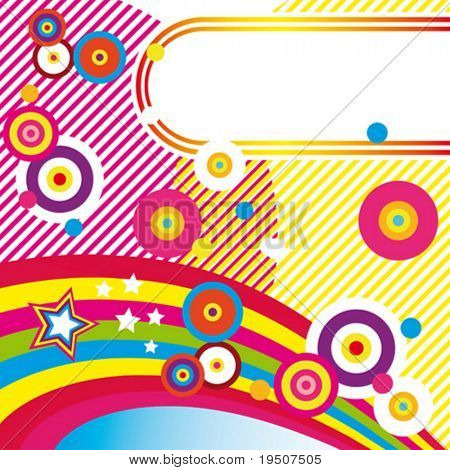 Festive abstract background  1/22. VECTOR (See Jpeg Also In My Portfolio)