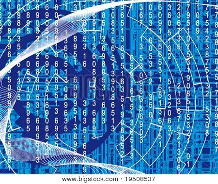 illustration of matrix