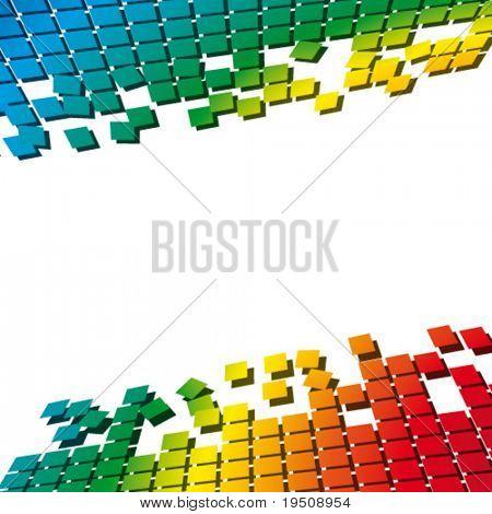 bunt-Vektor-illustration