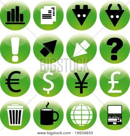 Definir ícone Stock Exchange