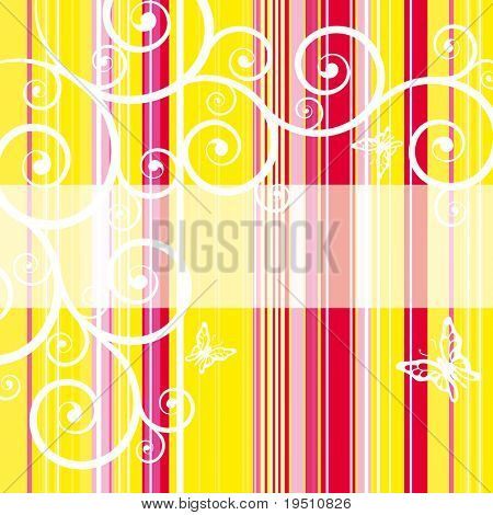 Striped bright background with place for Your text. (Vector version - 25707982)