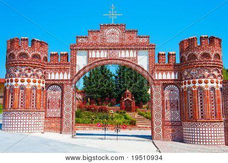 Monastery of 'Osios Efraim' at Greece