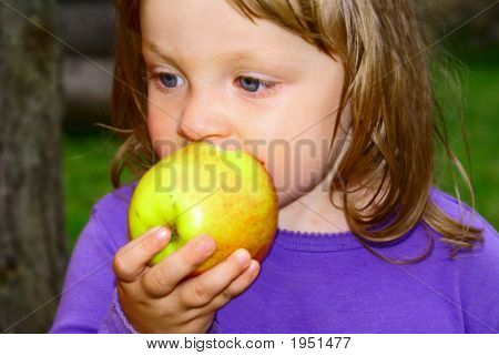 Girl Apple