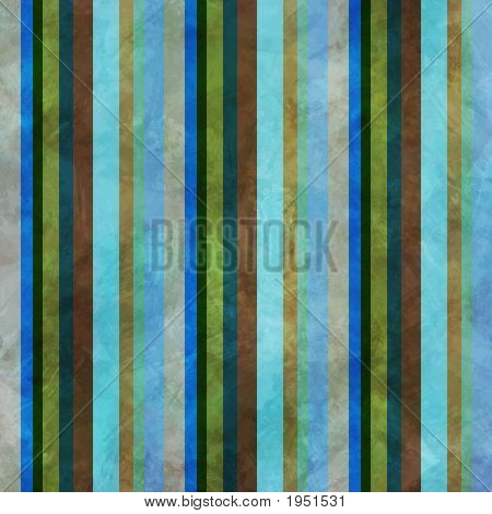 Striped Grunge Background With Tropical Colors
