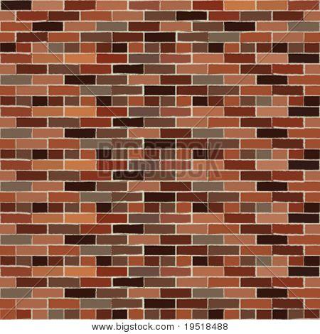Seamless brickwall - vector illustration