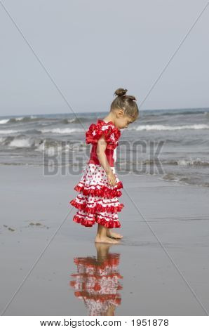 Child In Dress