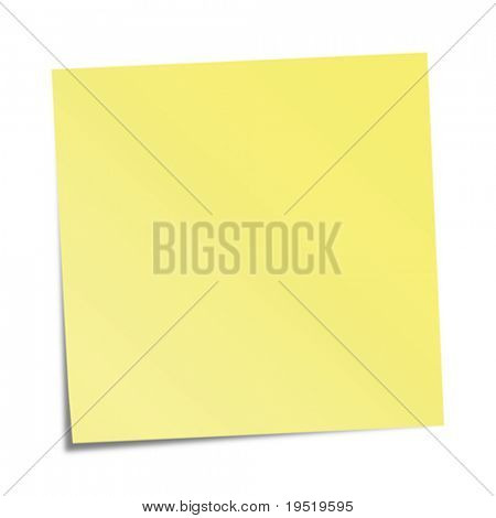 Nota amarela
