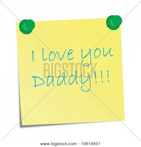 Te amo Daddy