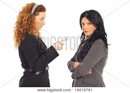 Manager Conflict Employee Woman