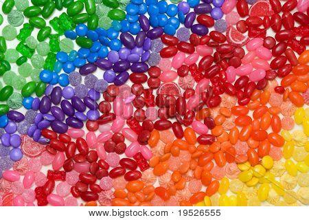 Süßigkeiten-Regenbogen