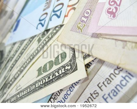 Banknoten - Welt Geld