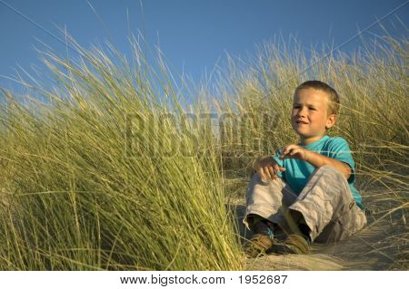 Boy In The Dunes
