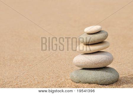 Balance, zen stones