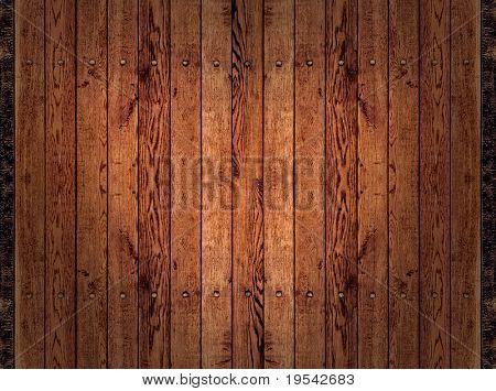 Standard der braun trockenes Holz