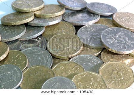 Münze Pile